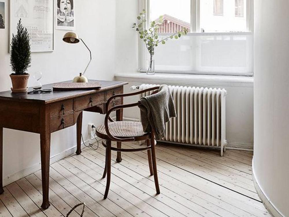 Gode ideer til indretning af et hyggeligt og hjemligt kontor