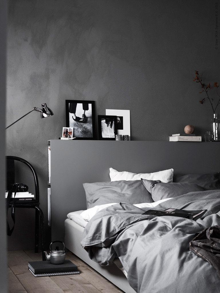 Indretning af soveværelse med opbevaring i seng
