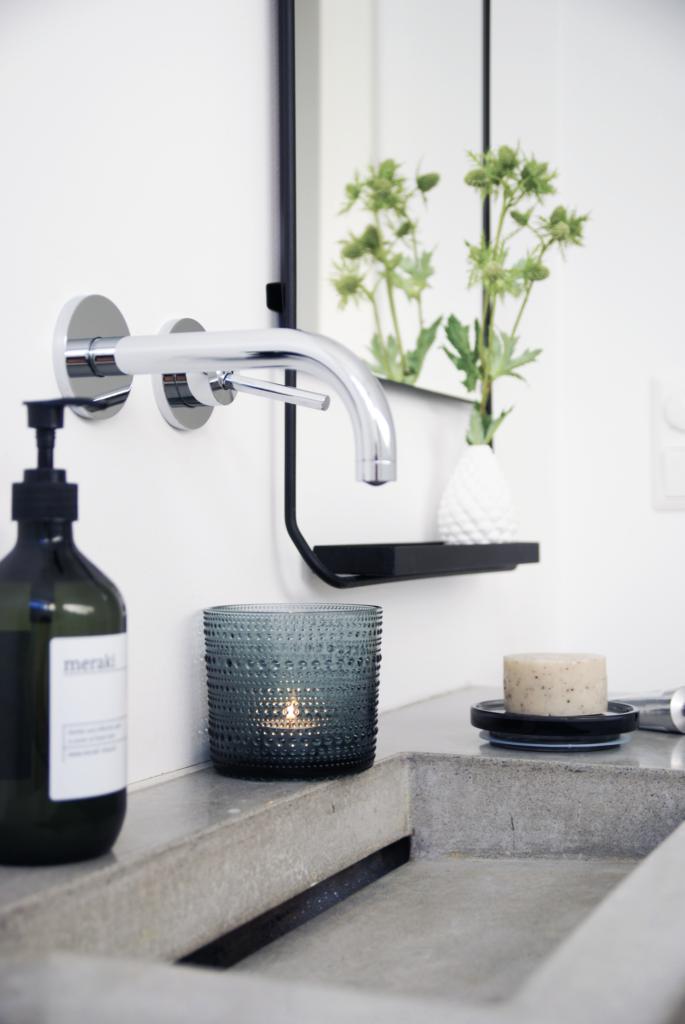 Alvorlig Indretning af badeværelse med betonvask JR66