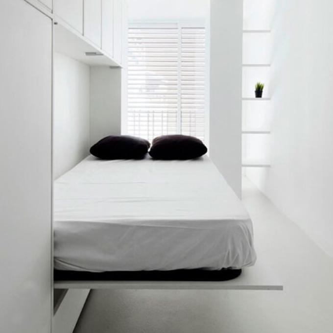 væg seng Beslag til indbygningsseng/vægseng   på tværs   Altomindretning.dk væg seng