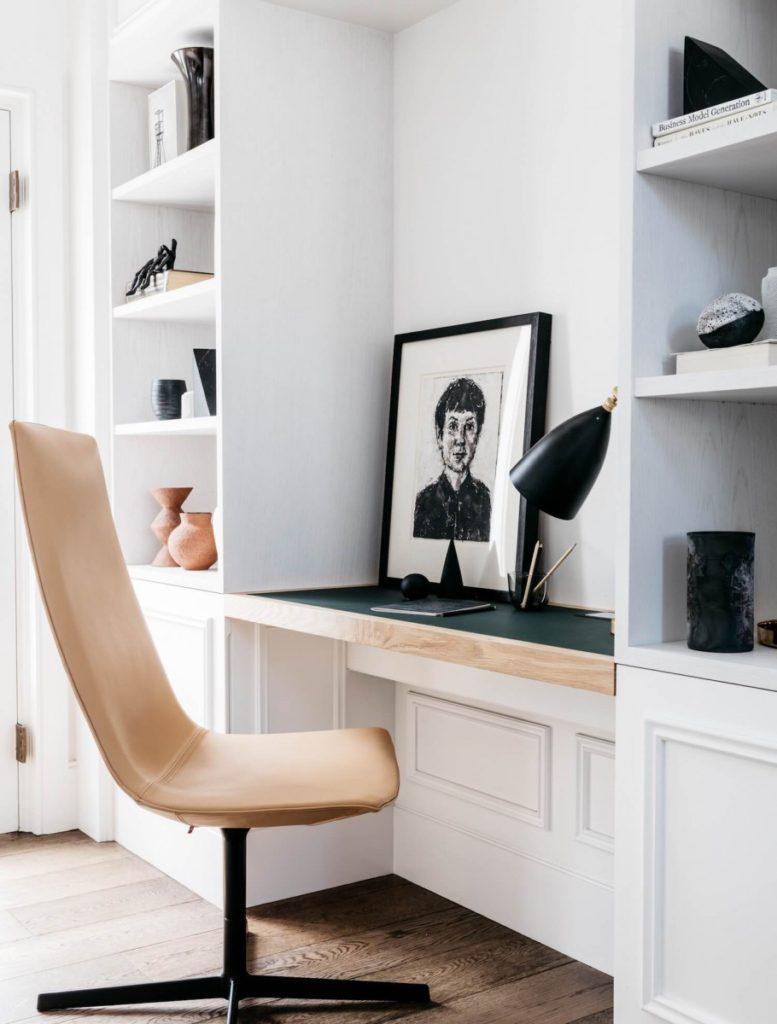 indretning skrivebord