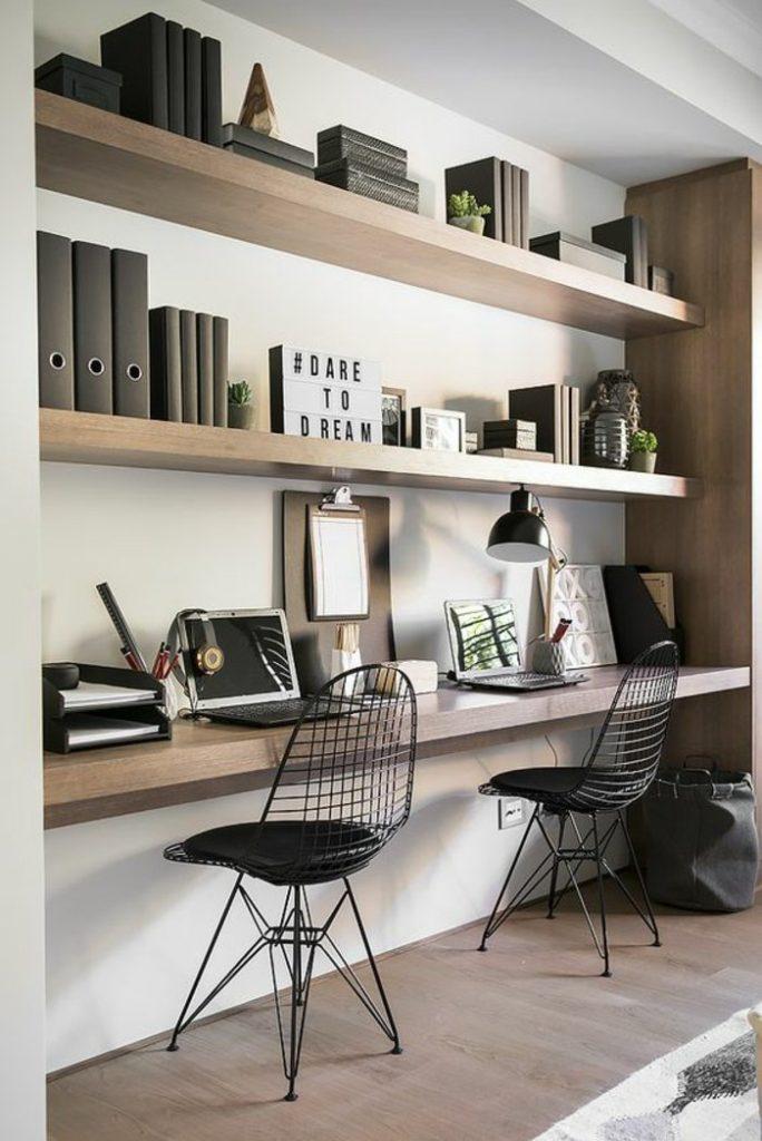 indretning kontor Indretning af hjemme kontor i små rum   bolig inspiration indretning kontor