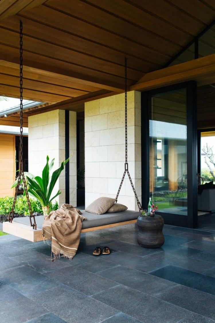 Fantastisk DIY idé til interiør til haven - gynge seng MK78