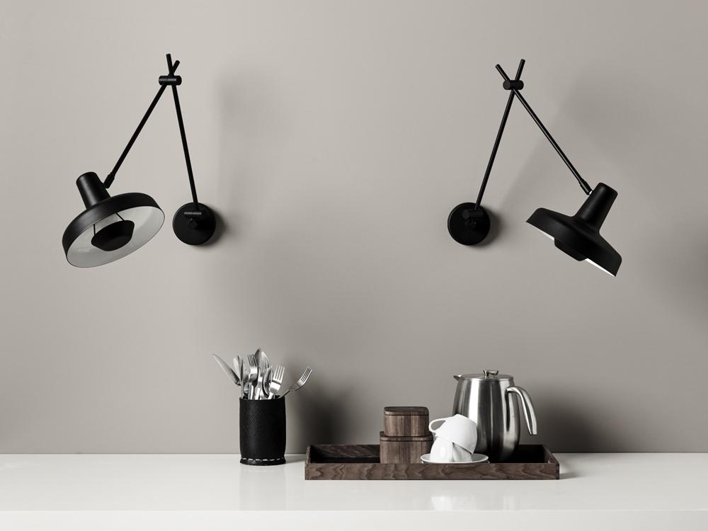 5 flotte væglamper til dit køkken -