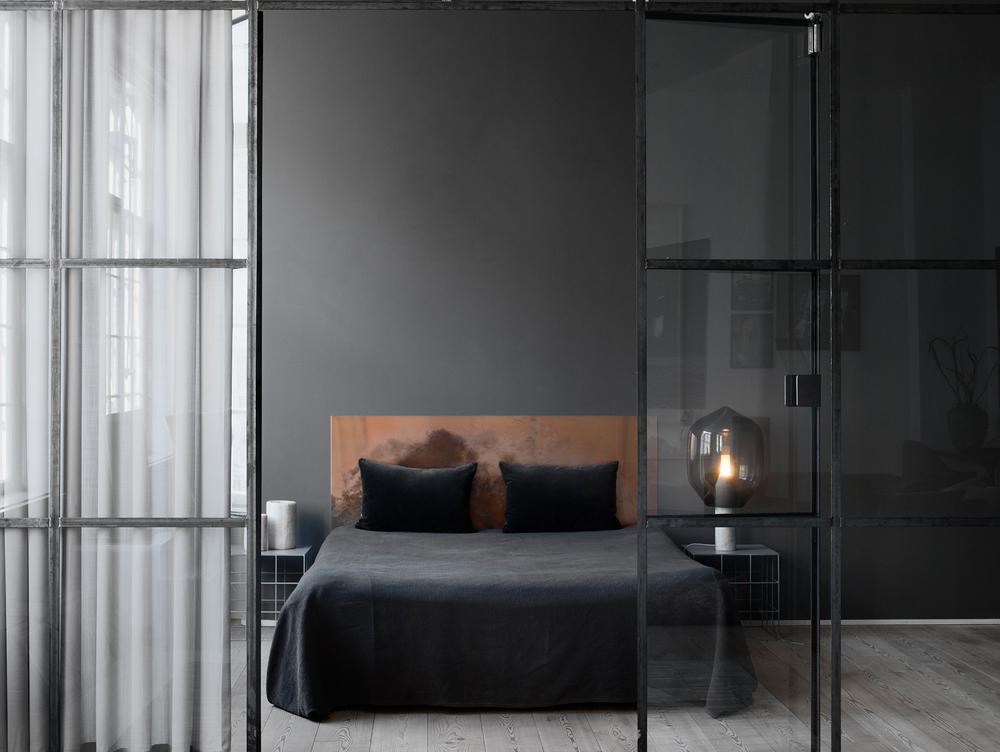 Få et soveværelse med volume og elegance -