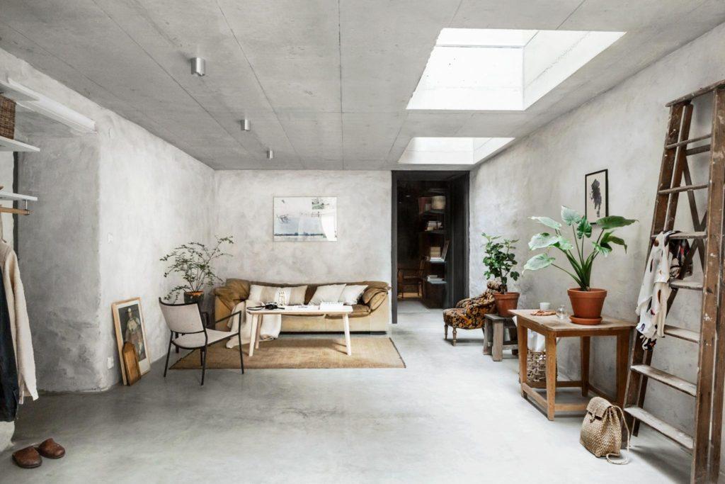 Unik Unik bolig med beton fra gulv til loft - JQ96