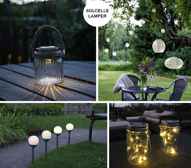 10 flotte udendørslamper til at lyse op i din have