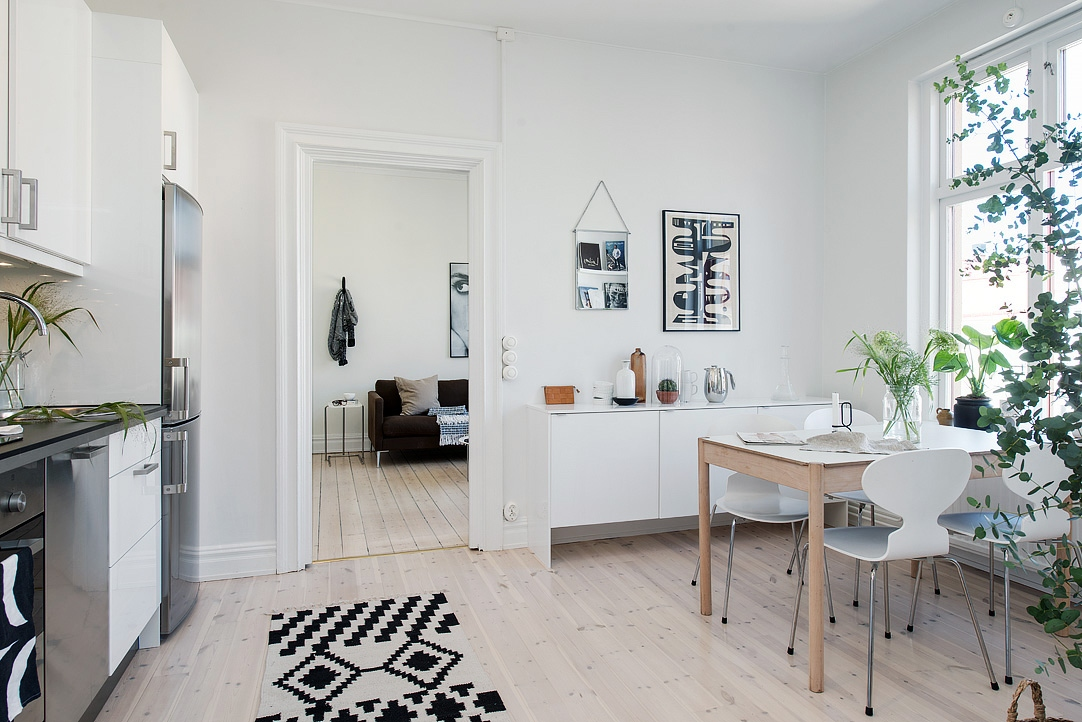 En studielejlighed med et utraditionelt sovev relse for Apartamentos de 40 metros decoracion