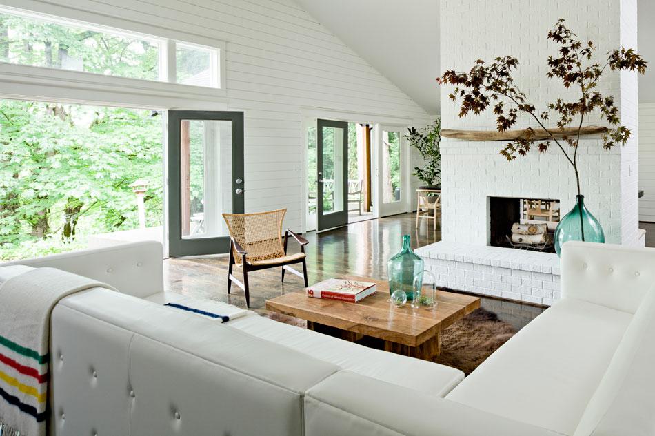 Boligindretning med moderne og hyggelig indretning