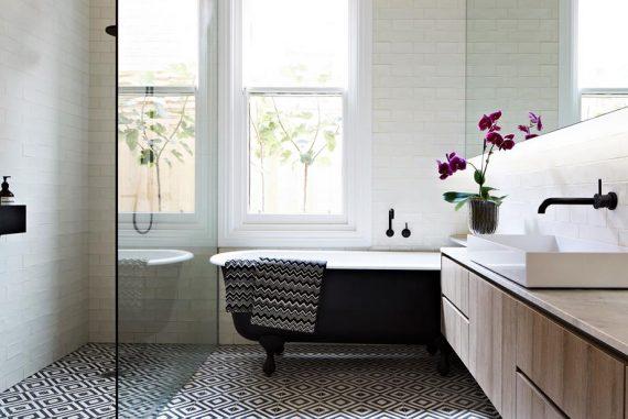 indretning badeværelse Pift badeværelset op med smukke gulvfliser   indretning badeværelse