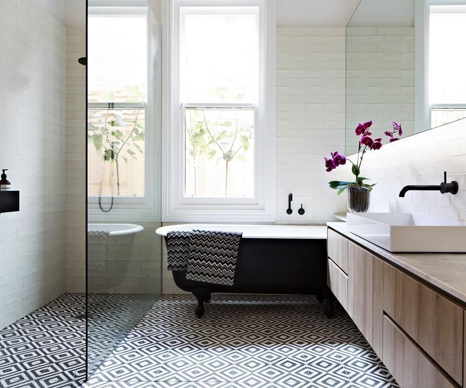 Family Bathroom Ideas Pinterest : Pift badev?relset op med smukke gulvfliser