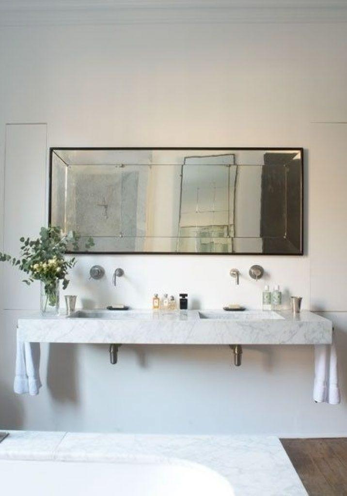Moderne Indretning badeværelse med marmor BV-86