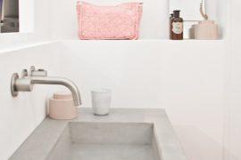 Betonvask til bad