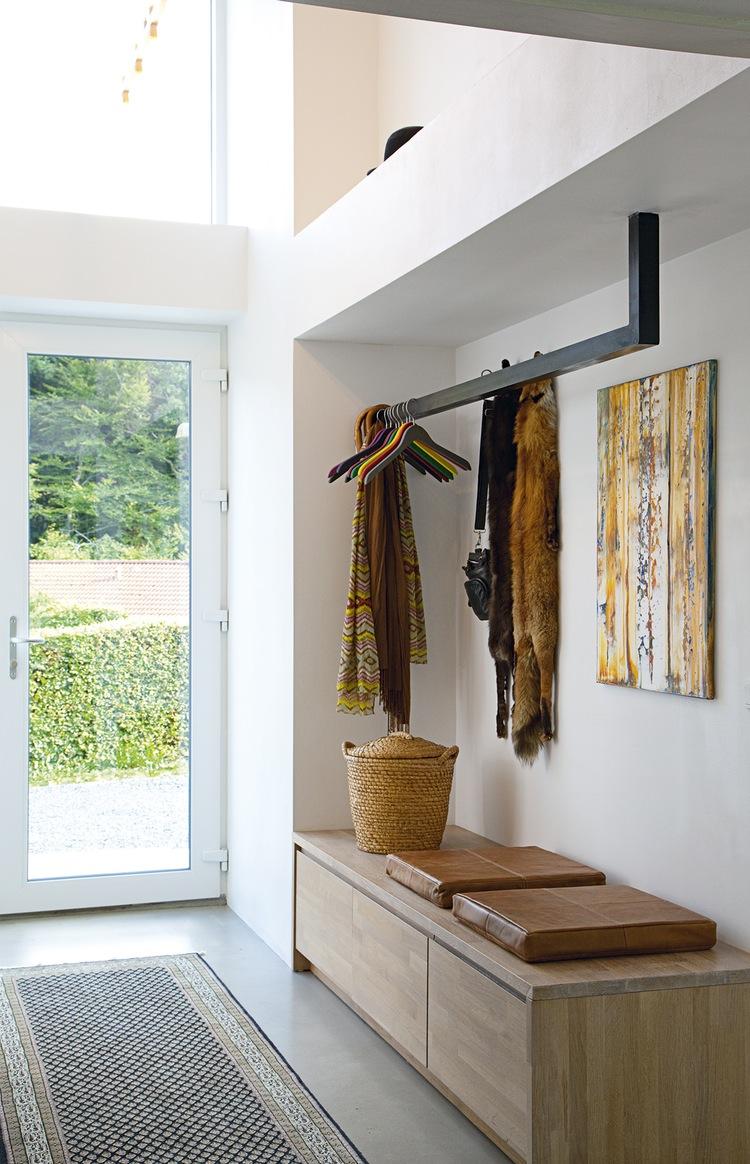 10 ideer til indretning af entr med en b nk - Decoratie interieur bois ...