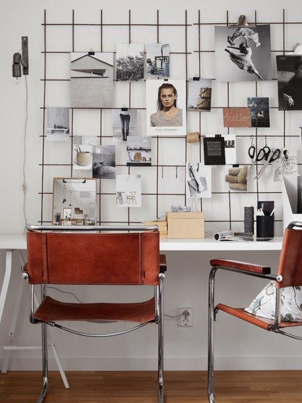 Udsmyk med wire - giv dine vægge et industrielt twist -