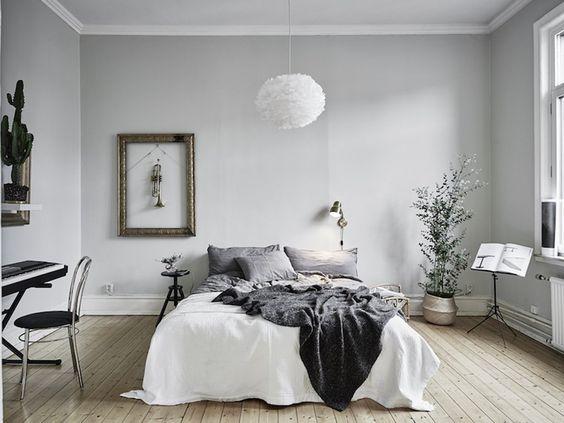 Elegant pendel lampe til soveværelset -