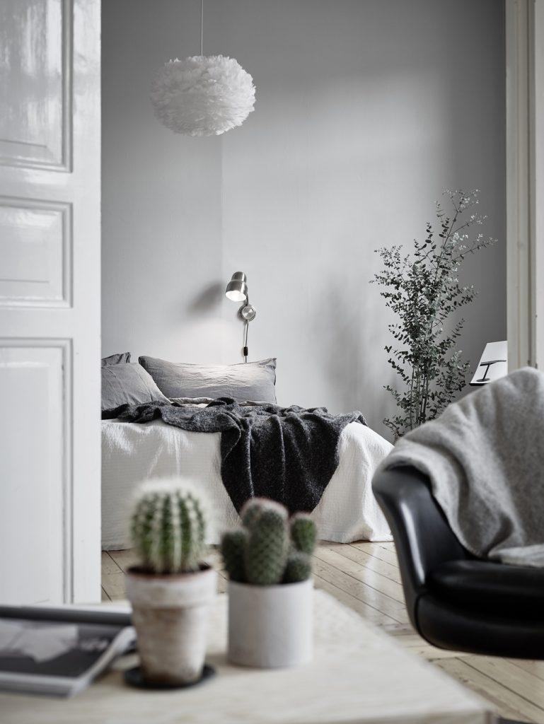 Elegant pendel lampe til soveværelset