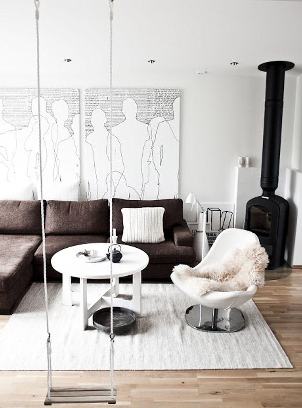 Benyt en gynge i din boligindretning   bolig inspiration