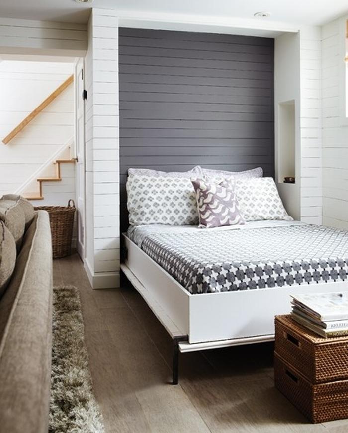 indbygget seng i skab Skab ekstra plads med en Murphy seng   Seng der kan gemmes væk indbygget seng i skab