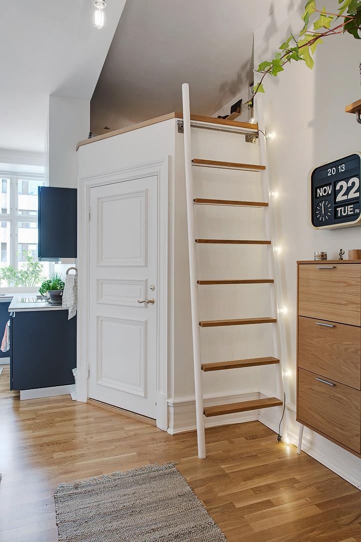 En smart udnyttelse af etværelses lejlighed   altomindretning.dk