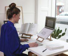 STANDING.DK Designed by Anita Valrygg, Rolf Glumsoe, Standing laptopstand