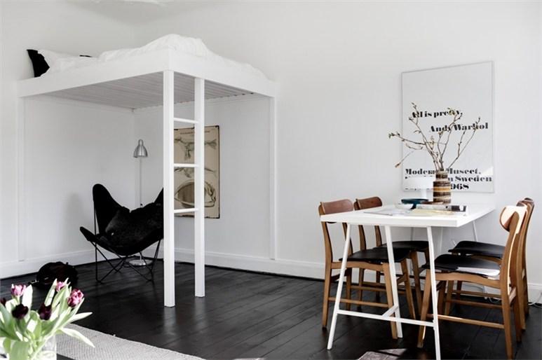 7 anderledes soveværelser i små rum -