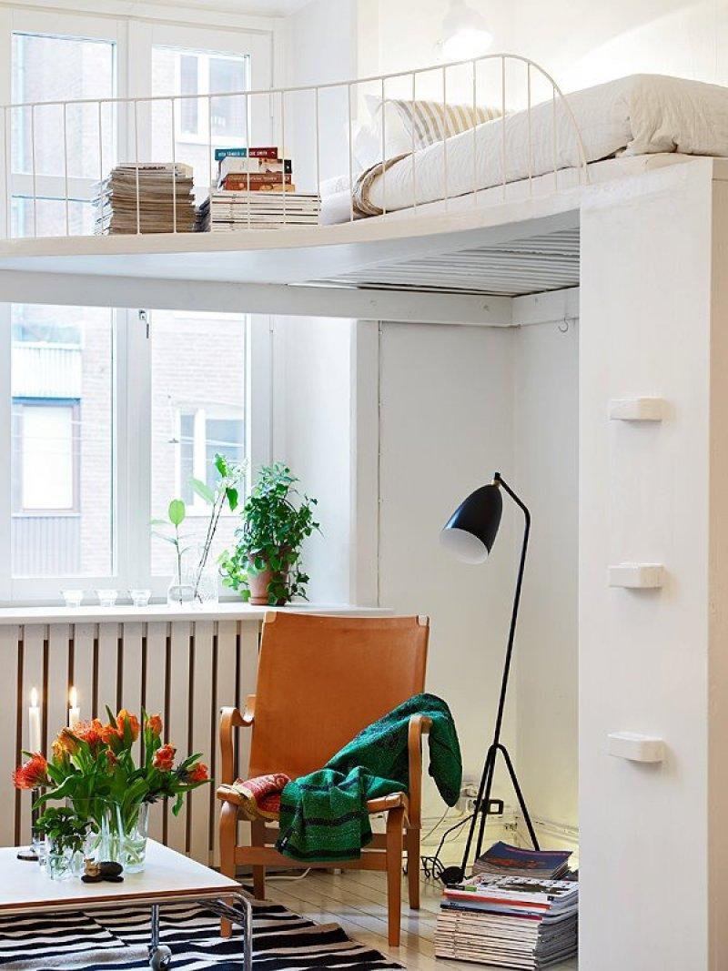 7 anderledes soveværelser i små rum