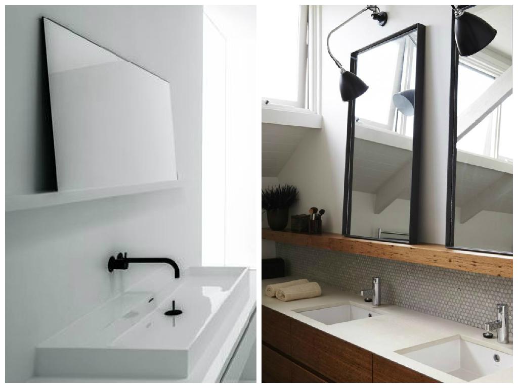 14 smukke vægspejle til badeværelset