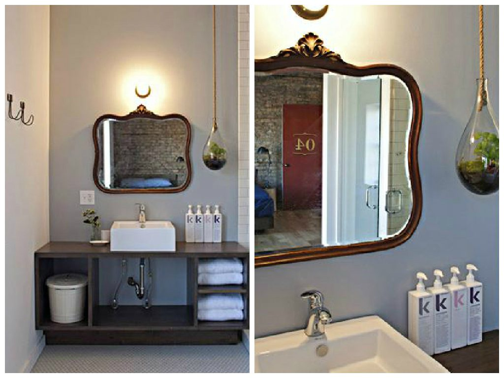 14 smukke vægspejle til badeværelset -
