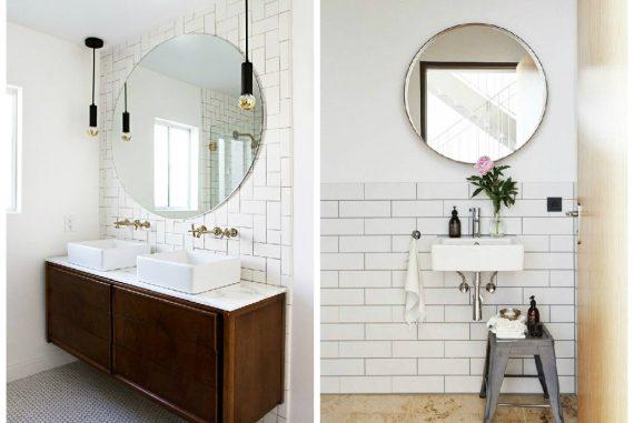 Sensationelle 14 smukke vægspejle til badeværelset - HP92