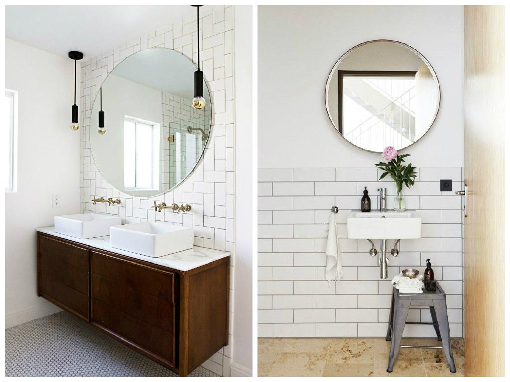 spejl til badeværelse 14 smukke vægspejle til badeværelset   spejl til badeværelse