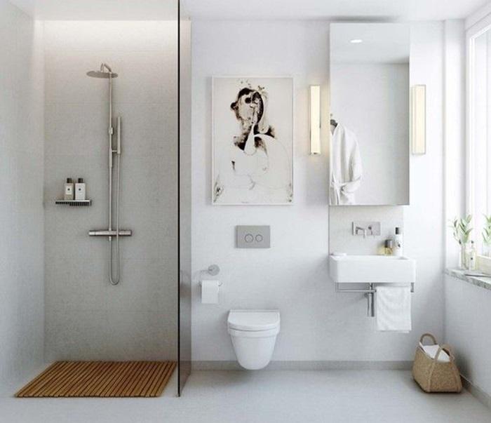 badeværelse glasvæg Indretning af badeværelse med glasvæg i bruseniche badeværelse glasvæg