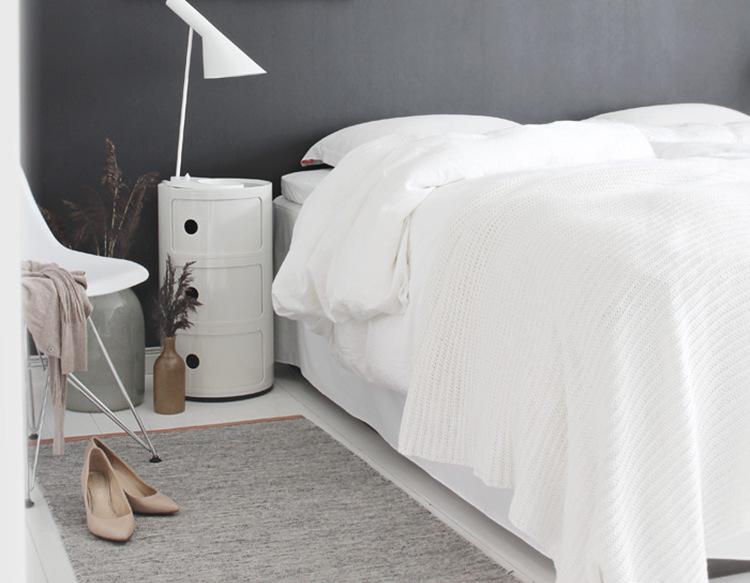 farve væg soveværelse