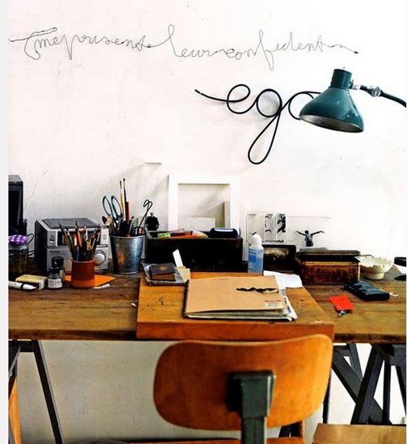 Vintage stil i din kontorindretning - bolig inspiration