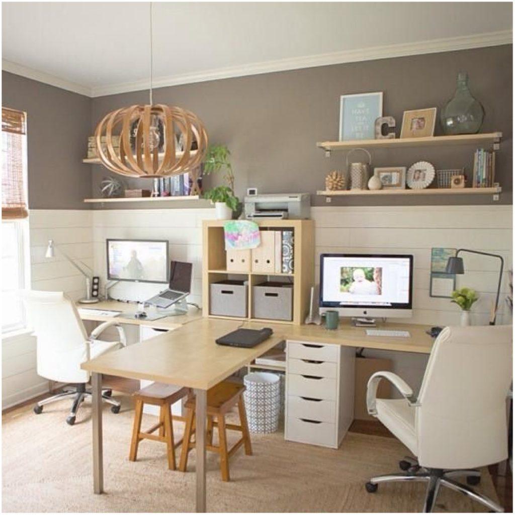 Gode råd til opbevaring og indretning af et lille kontor