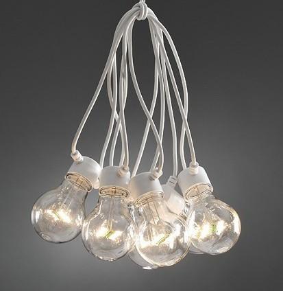 Oversize lyskæde i LED til indendørs og udendørs