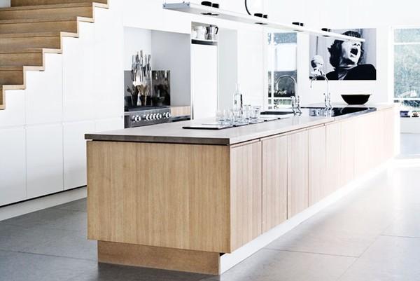 Minimalistisk køkkenindretning   bolig inspiration