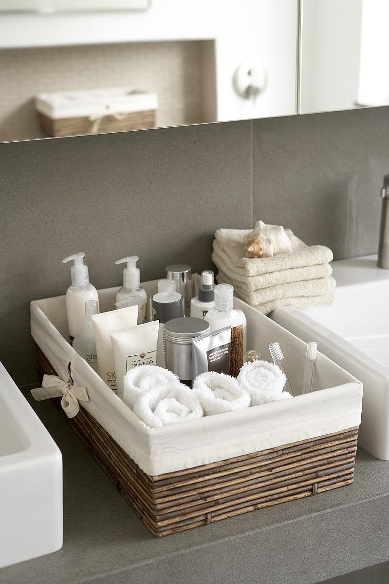 Gode opbevarings tip ved indretning af badeværelset