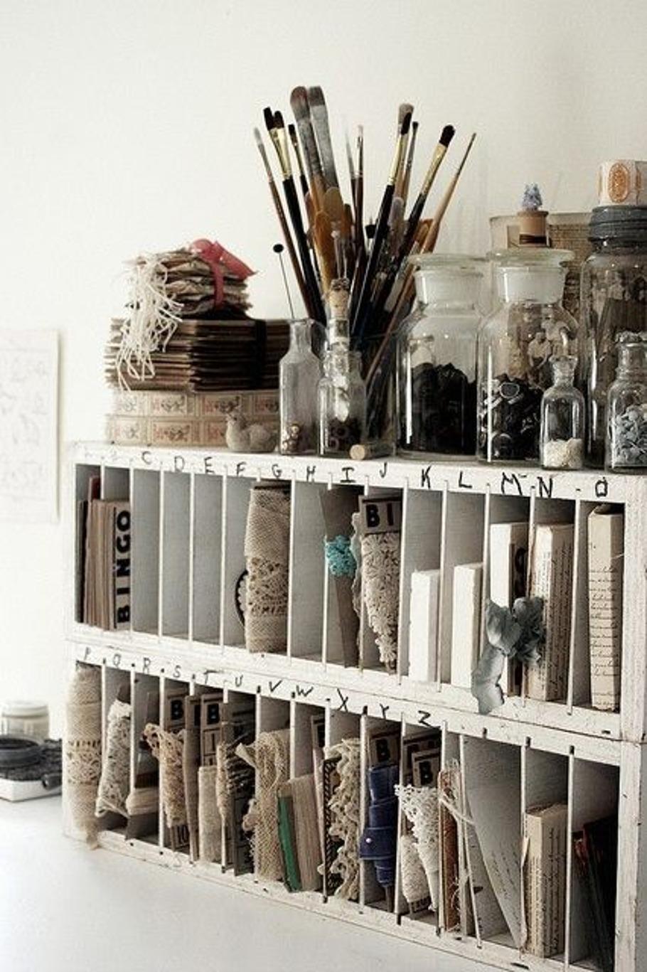 Arbejdsområder der summer af kreativitet -