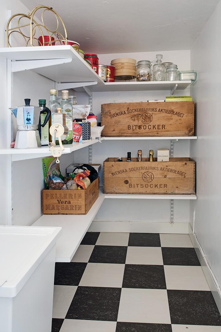 Gode ideer til opbevaring af viktualievare i køkkenet