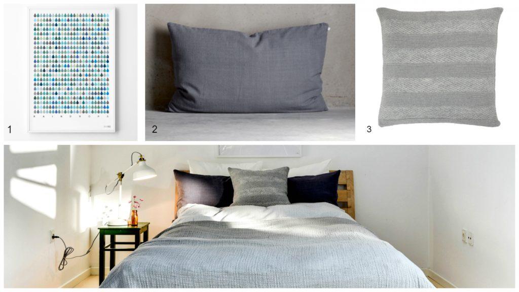 soveværelse moodboard